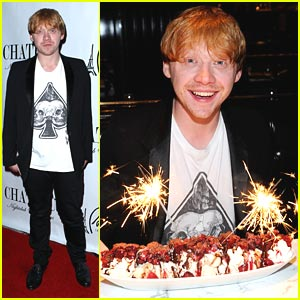 Rupert Grint: Vegas Birthday Bash!
