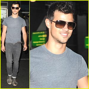 Taylor Lautner Gets 'Abducted' to NYC