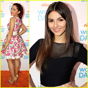 Victoria Justice & Ariana Grande: Worldwide Day of Play Gala!
