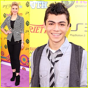 Caroline Sunshine & Adam Irigoyen Hit The Studio Together -- EXCLUSIVE!
