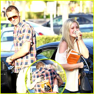 AJ Michalka: Hugs From Ryan Blair!