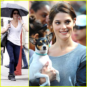 Ashley Greene: Pilates For Pink!