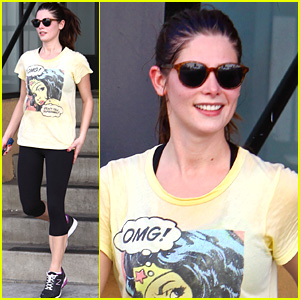 Ashley Greene: Workout Wonder Woman