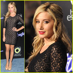 Ashley Tisdale Gets 'Footloose'