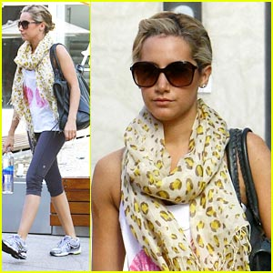 Ashley Tisdale is a Gym Girl