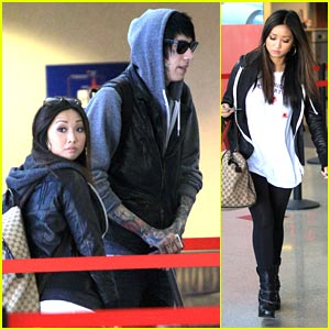 Brenda Song: Going To Nashville with Trace Cyrus!
