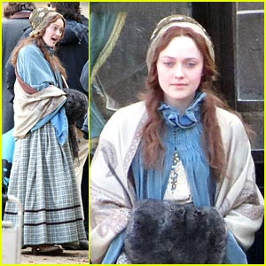 Dakota Fanning in 'Effie' -- FIRST LOOK!