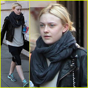 Dakota Fanning: Workout Woman