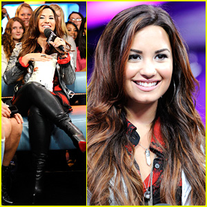 Demi Lovato: Backstage Behind The Scenes -- FIRST LOOK!
