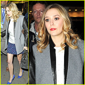 Elizabeth Olsen Leaves 'Late Night with Jimmy Fallon'