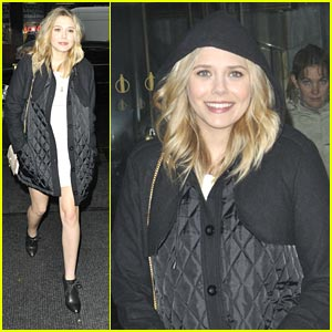 Elizabeth Olsen Stops By The Today Show