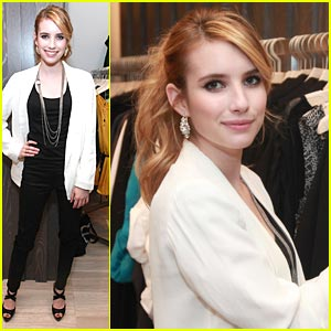Emma Roberts Has a Denim Habit