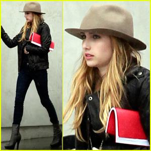 Emma Roberts: 'New Girl' Fan!