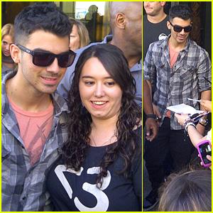 Joe Jonas: Madrid Man!