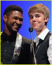 Justin Bieber & Usher Record 'The Christmas Song'