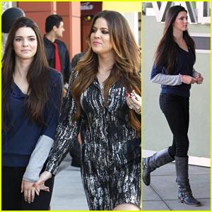 Kendall Jenner: Children's Hospital Visit!