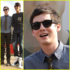 Logan Lerman: BIFF Film Buff