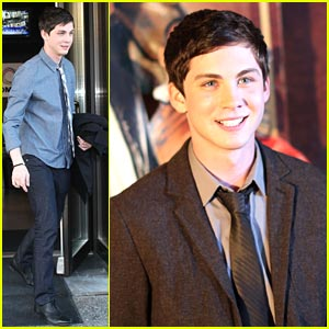 Logan Lerman: 'The Three Musketeers' in Vancouver