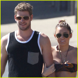 Miley Cyrus & Liam Hemsworth: Malibu Mates!