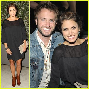 Nikki Reed 'Just Dances' with Paul McDonald