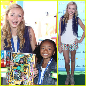 Peyton List & Skai Jackson: Party on the Pier Pair!