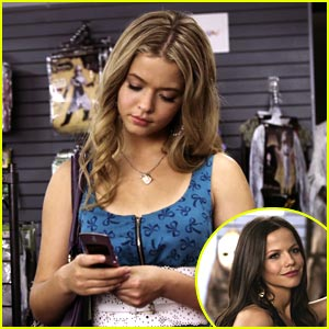 Sasha Pieterse: New 'PLL' Halloween Clips!