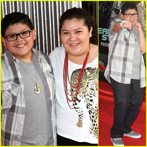 Rico &#038; Raini Rodriguez: 'Real Steel' Premiere Pair!