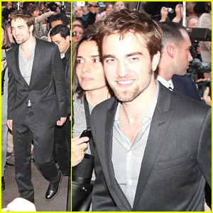 Robert Pattinson: Beard Be Gone!