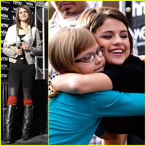 Selena Gomez: Meet & Greet in Edmonton!