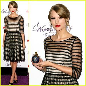 Taylor Swift: 'Wonderstruck' Launch in NY