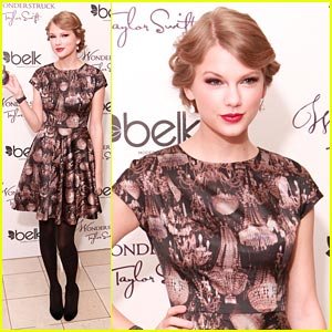 Taylor Swift Gets 'Wonderstruck' in Tennessee