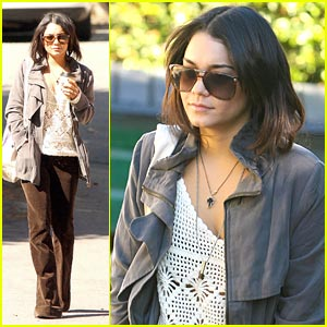 Vanessa Hudgens: Lord of the Rings Fan!