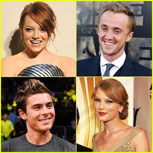 Zac Efron, Tom Felton, Emma Stone & More: People's Choice Nominees!