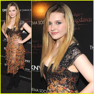 Abigail Breslin: 'The Class Project' with Georgie Henley