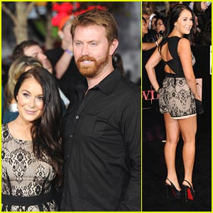 Alexa Vega: 'Breaking Dawn' Premiere with Sean Covel!