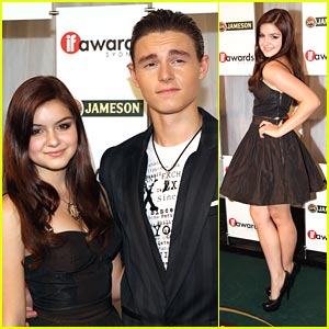 Callan McAuliffe & Ariel Winter: Jameson IF Awards 2011