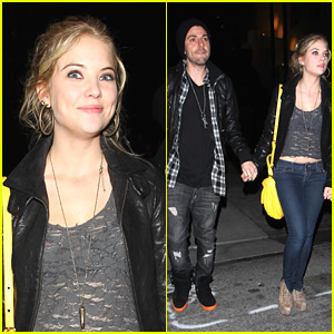 Ashley Benson: Beacher's Madhouse With Ryan Good