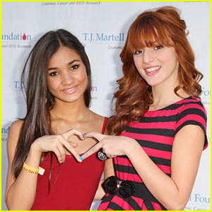 Bella Thorne & Pia Mia: 'Bubblegum Boy' Song Premiere!