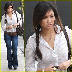 Brenda Song: Studio Cafe Stop