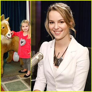 Bridgit Mendler: Radio Disney with Mia Talerico!