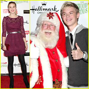 Caroline Sunshine: Hollywood Christmas Parade With Kenton Duty!