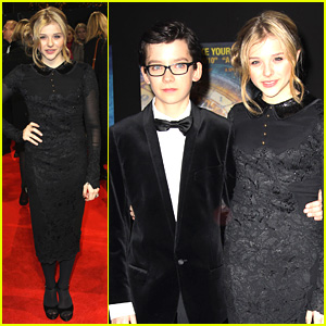 Chloe Moretz & Asa Butterfield: 'Hugo' Royal Film Performance