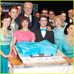 Daniel Radcliffe: 250 Performances of 'How To Succeed'!