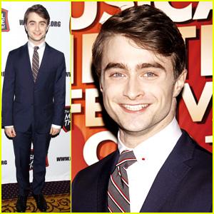 Daniel Radcliffe: NY Musical Theatre Festival's Awards Gala