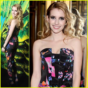 Emma Roberts: Versace for H+M Launch Party