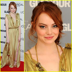 Emma Stone: Glamour's 2011 Women of the Year Awards