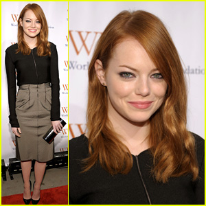 Emma Stone: Worldwide Orphans Foundation Gala