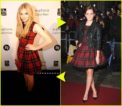 Fashion Faceoff: McQ Plaid Dress