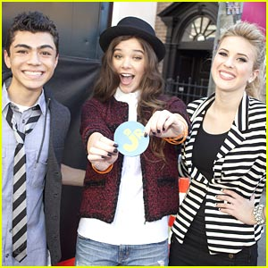 How Adam Irigoyen Met Hailee Steinfeld