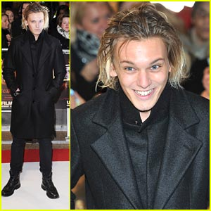 Jamie Campbell Bower: 'Breaking Dawn' Premiere in Britain